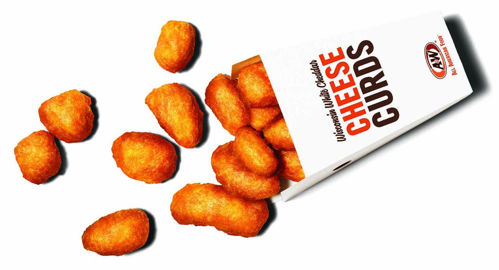 A&W Restaurants Sriracha Cheese Curds