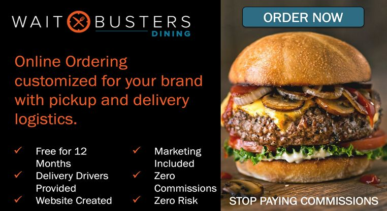 In Response to COVID, Waitbusters Is Now Offering Free Online Ordering and Delivery for All of 2021