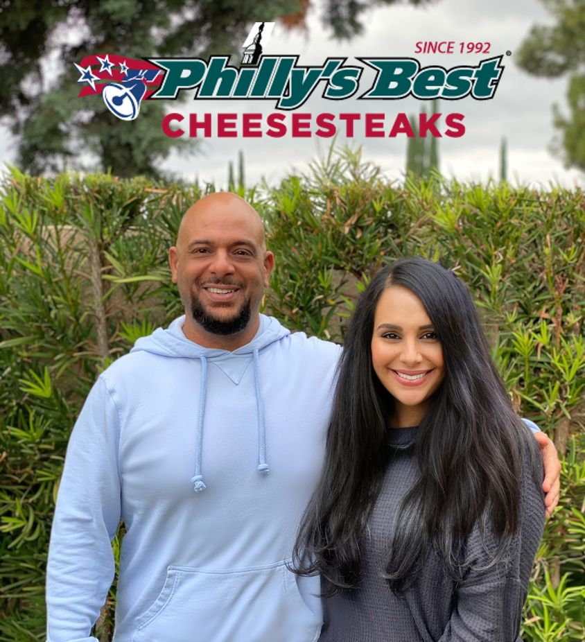 Philly's Best's Encino's Sibling Franchisees, Mark Hanna and Vera Yacoub