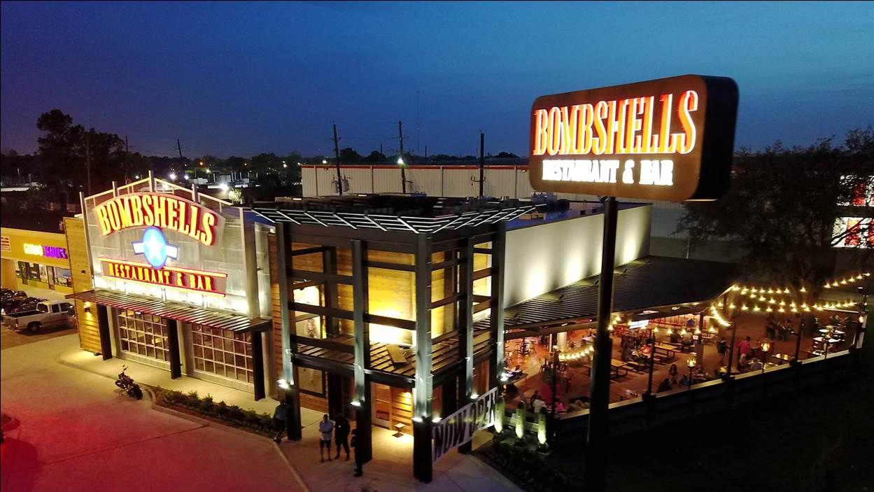 Bombshells 290 at 14191 Northwest Freeway, Houston, TX 77040 (credit Travis Reese)
