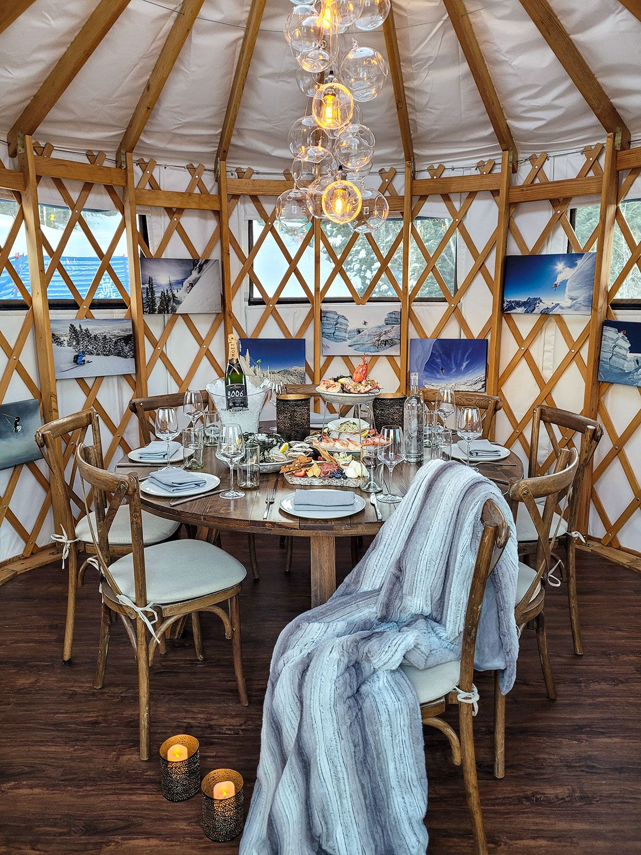 Opening of Yurt Village at the St. Regis Deer Valley Announced