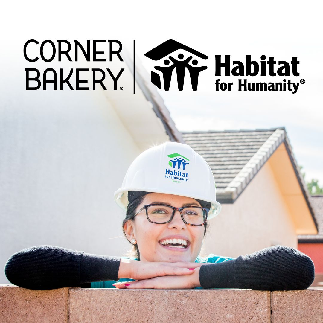 Corner Bakery Donates More Than $100,000 to Habitat for Humanity