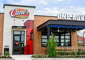 "Raising Cane's Named one of the ""BEST PLACES TO WORK"" in the U.S."