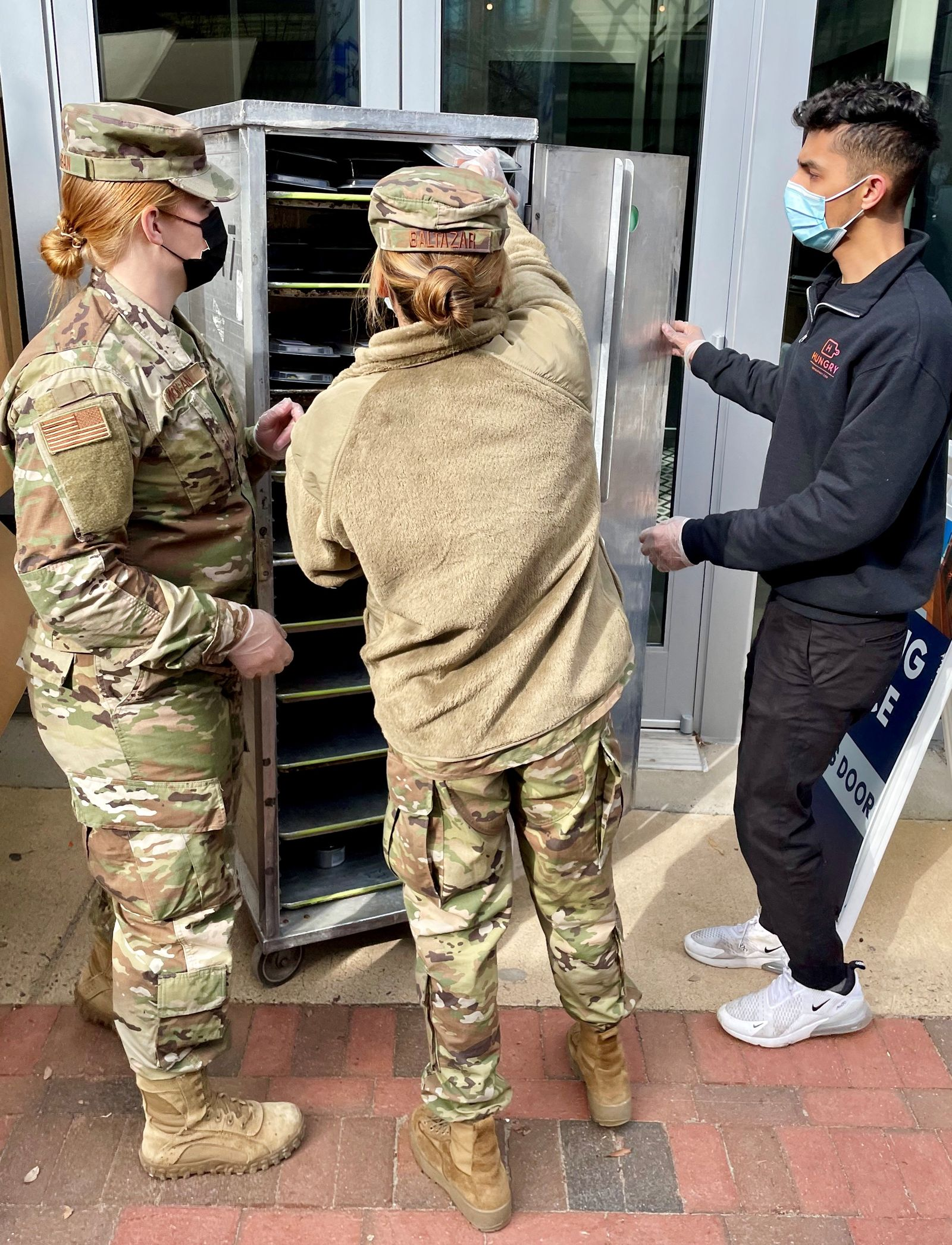 Who Fed 20,000 National Guard Troops Daily Prior to the Inauguration?