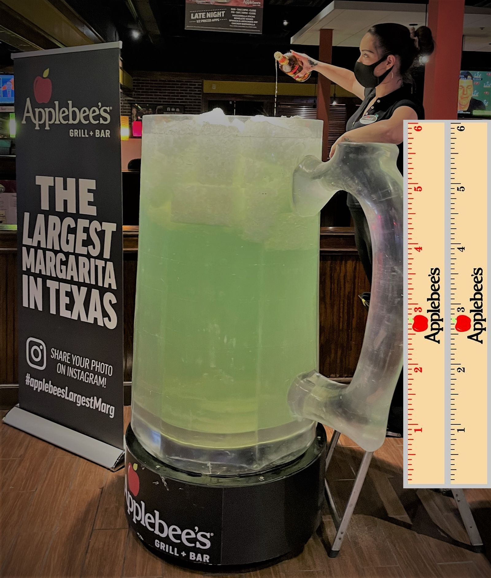 Applebee's Restaurants in the Dallas/Fort Worth Metroplex Bring Back their DOLLARITA - Margaritas for a Buck - for One Day Only: National Margarita Day, Monday, February 22