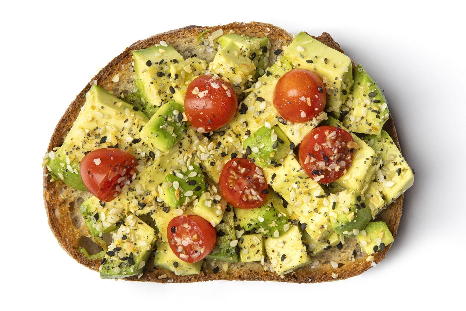 Robeks Everything Avocado Toast