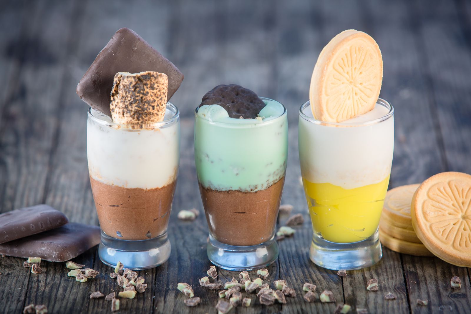 Available through March 7th at the San Diego and Fresno locations, Slater's 50/50 launches the Girl Scout Cookie Dessert Trio featuring Smore's, the Thin Mint and Frosted Lemonade.