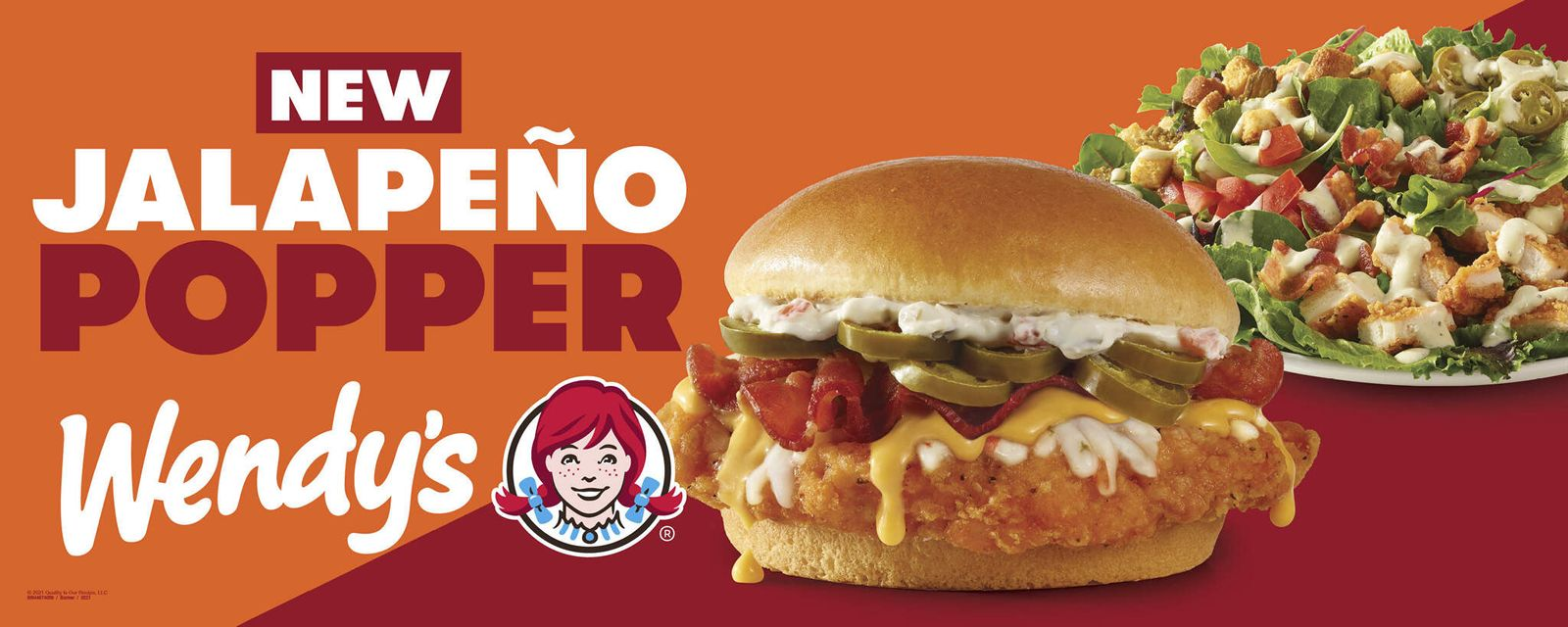 Wendy's New Jalapeño Popper Chicken Sandwich Heats Up the Chicken Wars with Flavor Innovation