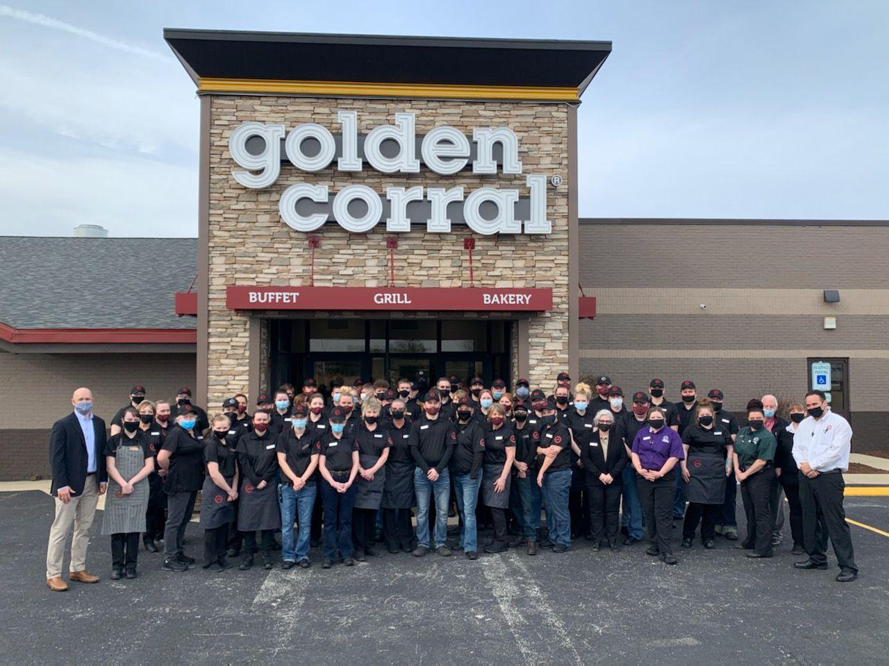 Golden Corral Celebrates Grand Opening of First Effingham Restaurant