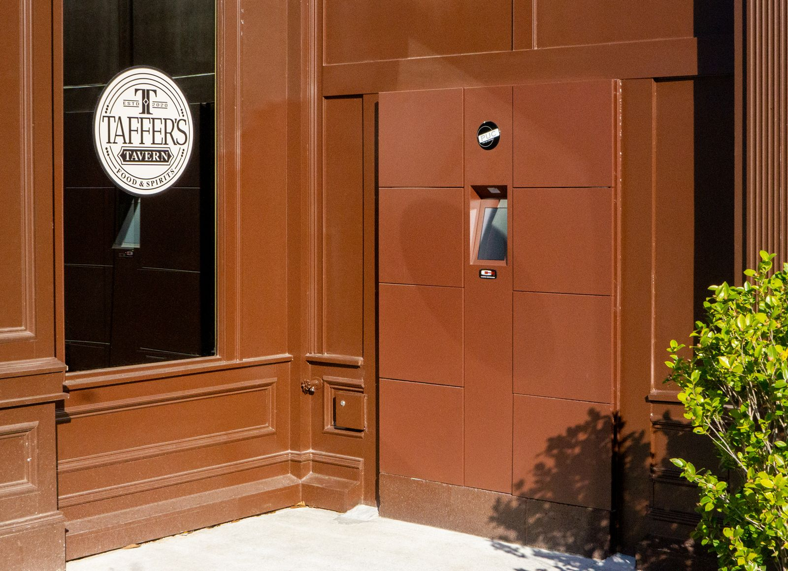 Taffer's Tavern introduces thru-wall, contactless locker system in collaboration with Carter-Hoffmann and Perfect Company