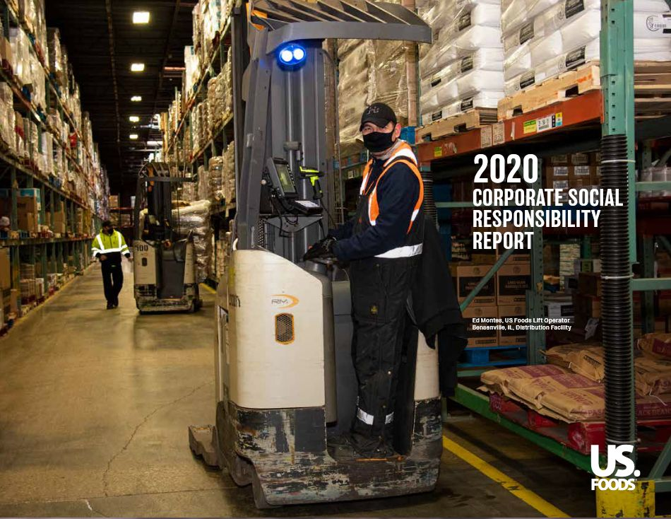 US Foods Releases 2020 Corporate Social Responsibility Report