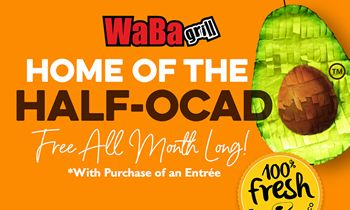 WaBa Grill Offering Free Avocado With Entrée Purchase in May in Partnership With the Avocados From Mexico Brand thumbnail