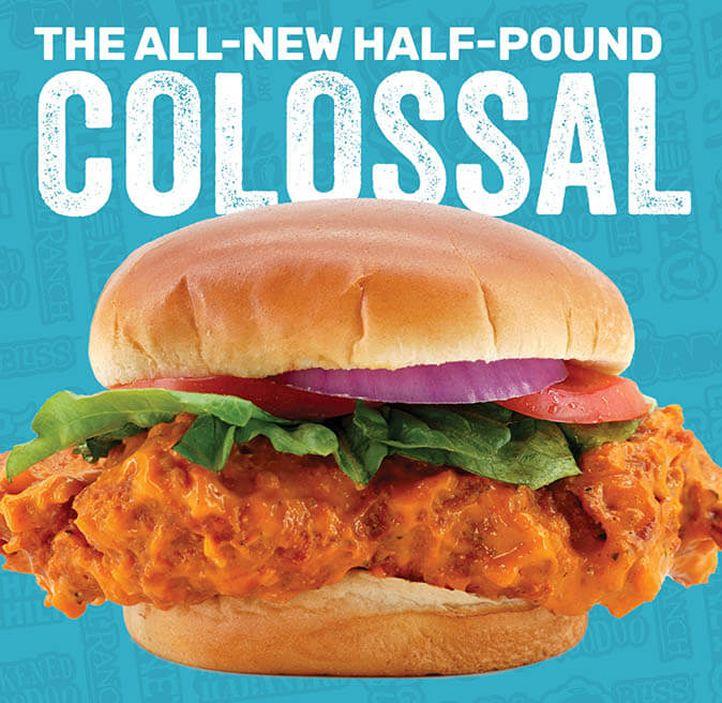 Wing Zone Enters Chicken Sandwich War with New Colossal Chicken Sandwich