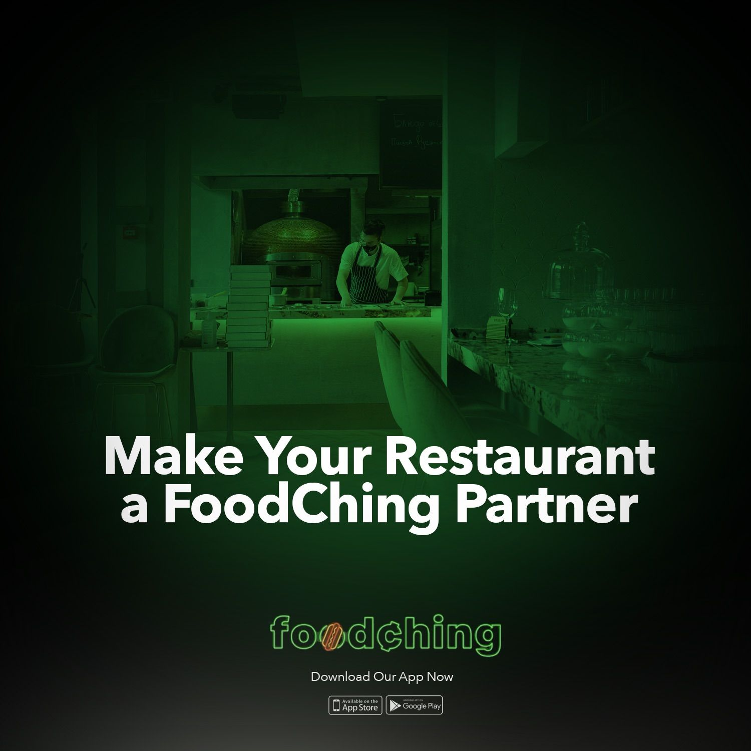 FoodChing Food & Drink Delivery Disrupting Market with FREE DELIVERY