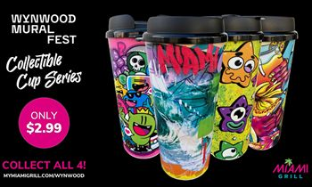 <p>Miami Grill Announces Annual Collectible Cup Launch & Wynwood Mural Fest Sponsorship thumbnail