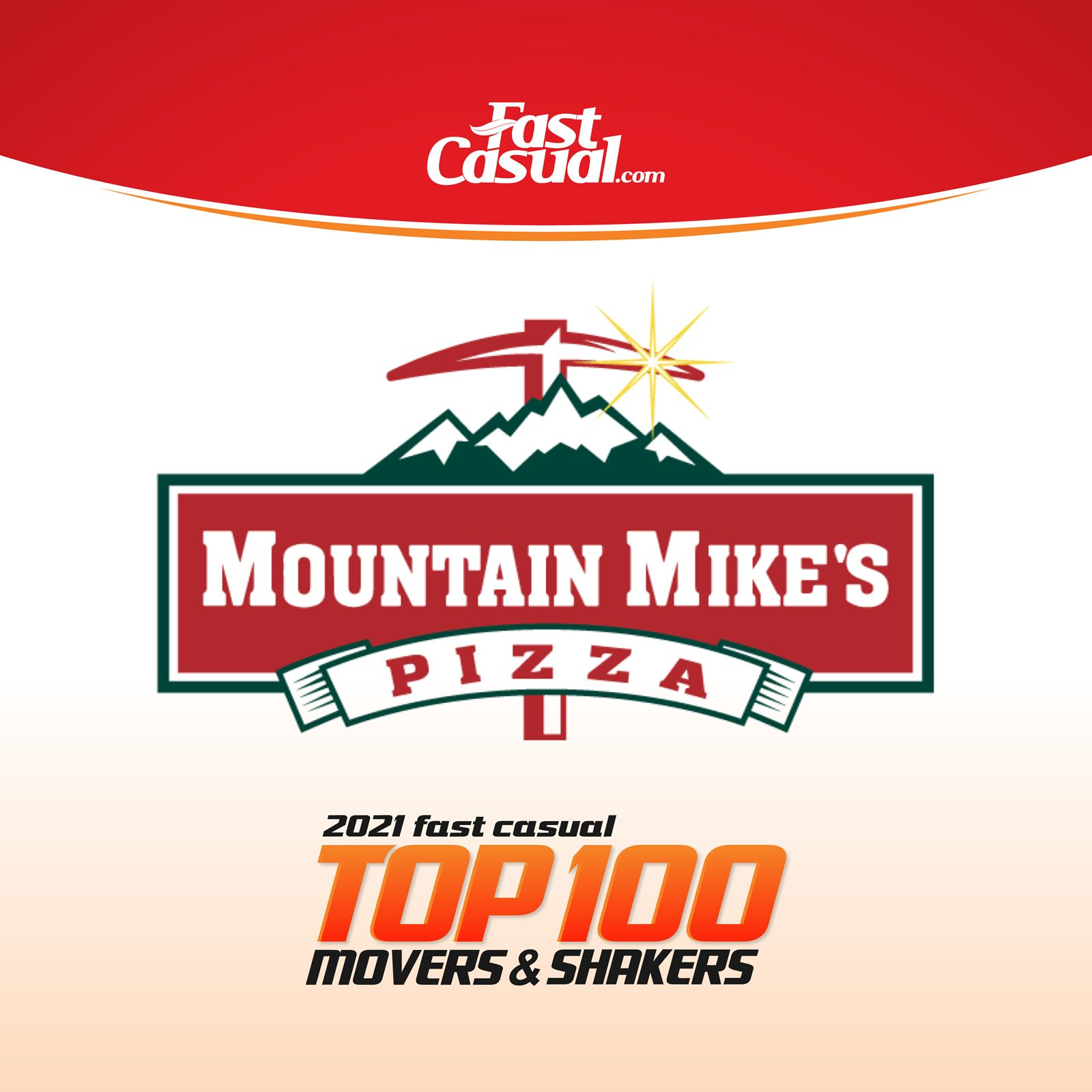 Mountain Mike's Pizza Debuts at #19 in Fast Casual's Top 100 Movers & Shakers