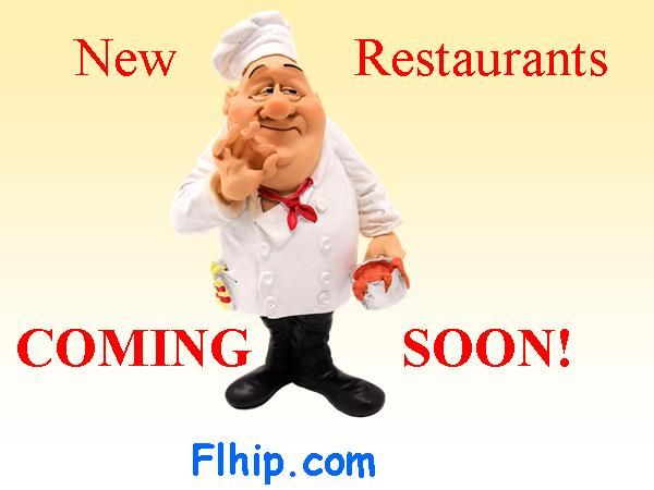 New Restaurants Opening Every Week Around the Country!