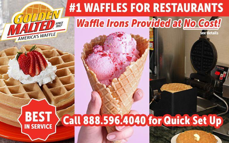 http://www.restaurantnewsrelease.com/wp-content/uploads/2021/05/Number-1-Waffles-for-Restaurants-Golden-Malted-Provides-Waffle-Irons-at-Set-Up.jpg