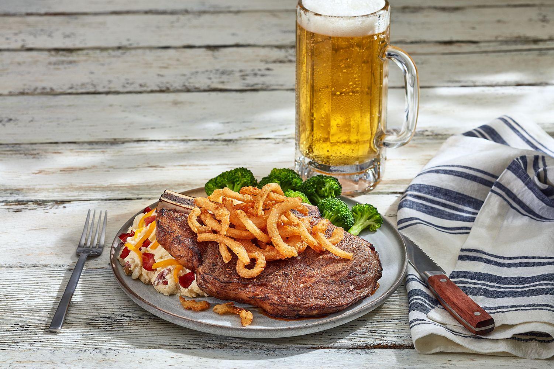 O'Charley's Restaurant + Bar Bone-In Cowboy Ribeye