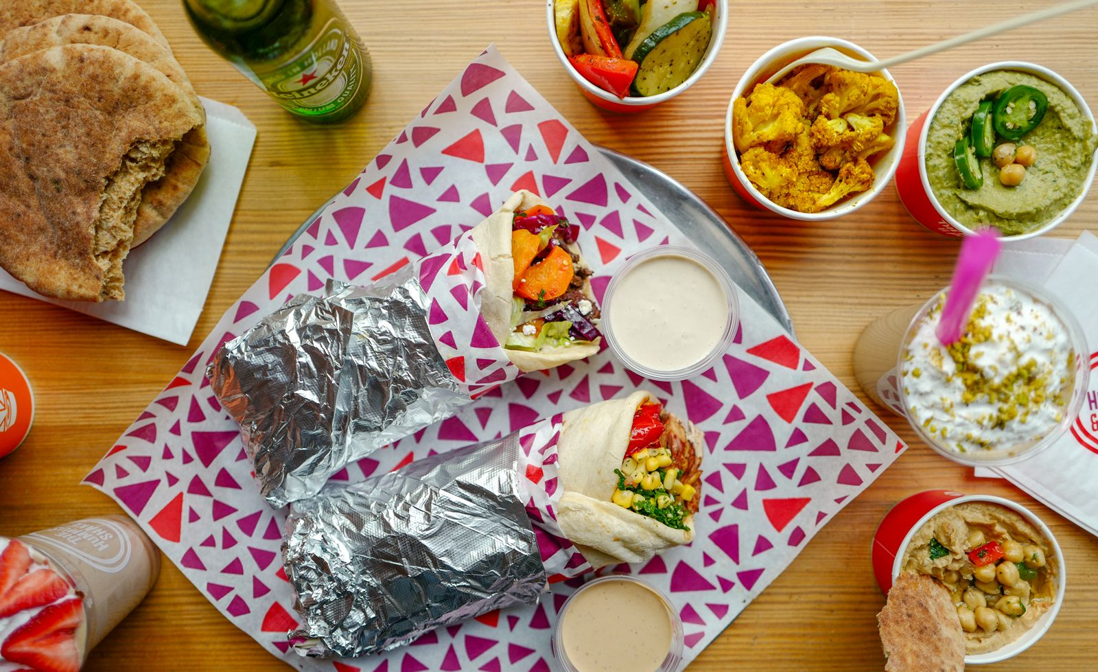 The Hummus & Pita Co. is set to bring its fresh & flavorful Mediterranean fare to Southern California with a California flagship location in North Hollywood's NOHO Shopping Center.