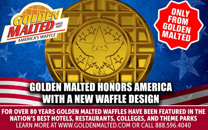 New Waffle to Honor America - Only From Golden Malted