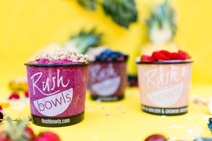 Rush Bowls Adds Newest Downtown Dallas Location