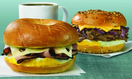 Manhattan Bagel Introduces New Eggstrami Breakfast Sandwich, Brownie and Iced Beverage Promotions