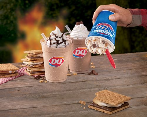"""Dairy Queen Restaurants Will Have Fans Coming Back for """"S'more"""" this Summer"""