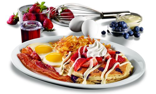 Denny's Salutes America with Red, White and Blue Plate Specials