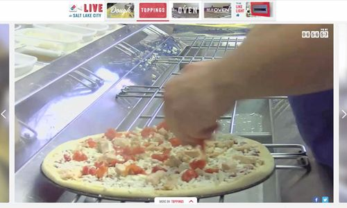 'Domino's Live' Cameras Invite Customers to Follow Store Action, Live and Uncut