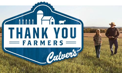 Culver's to Thank American Farm Families