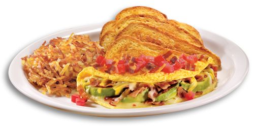 """Your Eggs, Your Way With Denny's """"Build Your Own Omelette"""" Menu"""