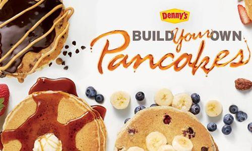 Denny's #BYOPancakes Menu Back By Popular Demand
