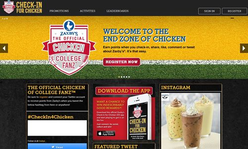 Zaxby's Launches 'Check-In For Chicken' Social Rewards Program and Mobile App