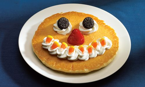 """It's a Scary October When IHOP Restaurants Bring Back the """"Scary Face"""" Pancake – and a Special Halloween Treat on October 31 When Kids under 12 Get a """"Scary Face"""" Pancake Free!"""