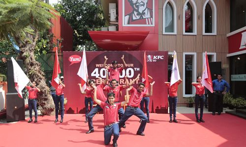 Yum! Brands Announces Opening of 40,000th Restaurant with KFC in Goa, India to Spotlight Emerging Market Leadership and Growth