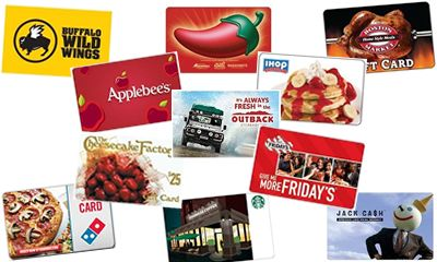 Restaurant Gift Cards a Hot Holiday Gift Option