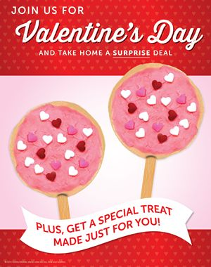Valentine's Day is Twice as Sweet at Ryan's, HomeTown Buffet and Old Country Buffet with Special Holiday Offer February 14-16