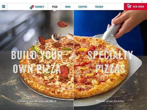 Domino's Pizza Launches New iPad Ordering App
