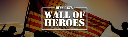 Bennigan's Calls on Americans Everywhere to Help Honor U.S. Military with 'Wall of Heroes'