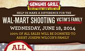 Community Rallies at Henderson Genghis Grill, Raises $10,000 For Wilcox Memorial Fund