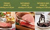 Ryan's, HomeTown Buffet and Old Country Buffet Treat Dad to a Manly Meal All Father's Day Weekend June 13 through 15