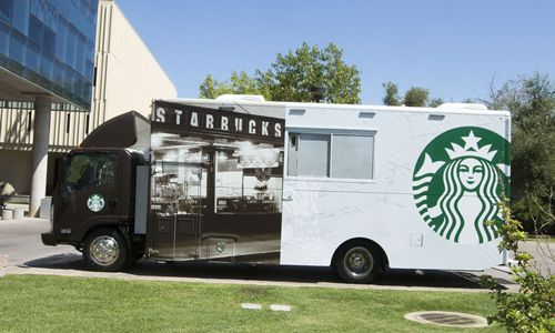 Starbucks to Test Mobile Trucks on College Campuses this Fall