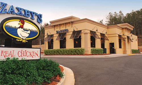 Wallace's First Zaxby's Restaurant Hatches