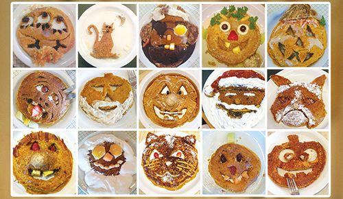 Carve Your Pumpkin Pancakes at Sunny Street Cafe