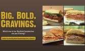 McAlister's Deli Asks Guests to Share Their Big, Bold Cravings for a Chance to Win Free Sandwiches for a Year