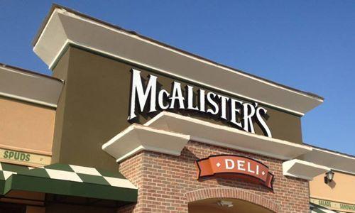 McAlister's Deli Signs Development Agreement to Open 10 Restaurants