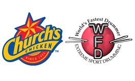 Church's Chicken Marches to a Different Drumstick With 2015 World's Fastest Drummer Championship, April 15-18