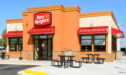 'Happy Trails' in Franklin, Roy Rogers restaurant on the way