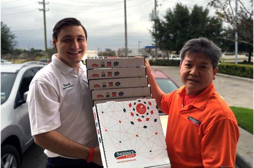 Local Entrepreneurs Hope to Open 20 Sarpino's Pizzerias in Houston Area